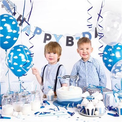 Little Planes Birthday Decorations Set