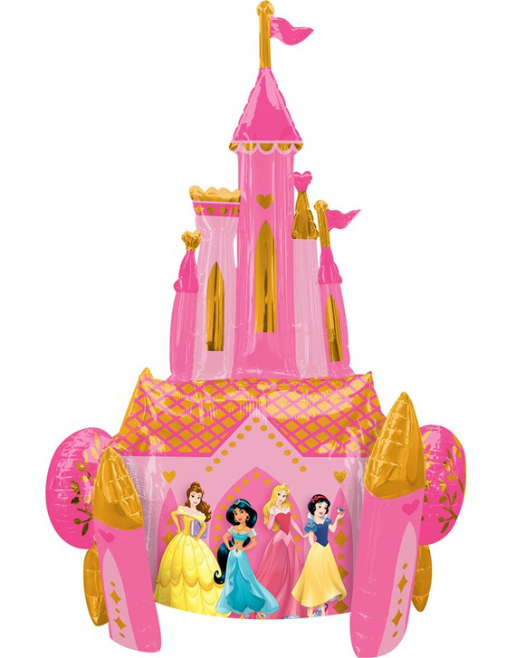 Disney Prinses Reuze Airwalker Ballon - 140 cm Folie