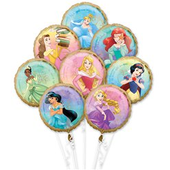 Disney Prinses Ballon Bouquet - Verschillende Folies