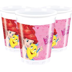 Disney Prinses Bekers - 200 ml Plastic Feestbekers