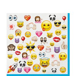 Emoji Lunch Servetten - 2 laags Papier