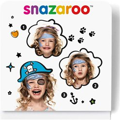 Snazaroo Piraten Mini Schminkset