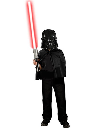 Darth Vader Cape en Masker Set - Star Wars Kostuum