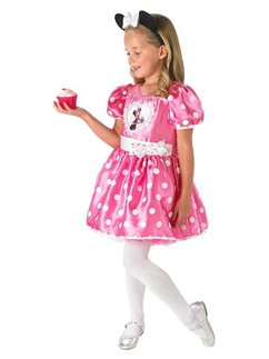 Minnie Mouse Roze Deluxe - Kinderkostuum