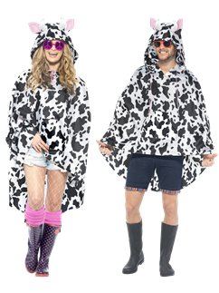 Unisex Koe Party Poncho