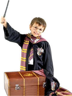 Harry Potter Kostuum Set met Kist