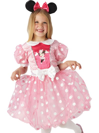 Minnie Mouse Roze Glitz - Kinderkostuum