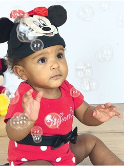 Minnie Mouse Jersey Set - Baby Kostuum