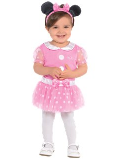 Minnie Mouse Roze Jersey Set