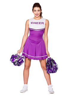 Paarse High School Cheerleader