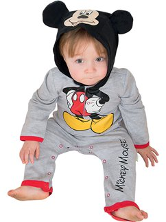 Mickey Mouse Jersey Romper