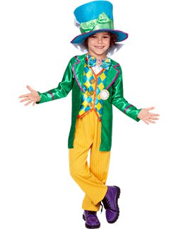 Alice in Wonderland Mad Hatter Jongen