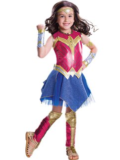 Deluxe Wonder Woman - Kinderkostuum