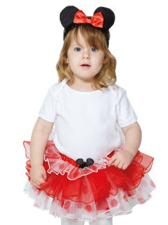 Minnie Mouse Tutu & Haarband Set