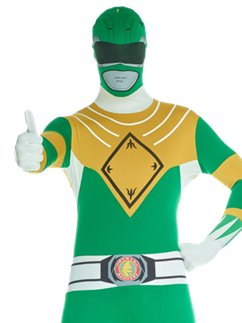 Power Rangers Morphsuit Groen