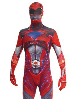 Power Rangers Film Morphsuit Rood