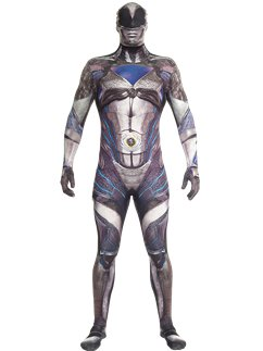Power Rangers Film Morphsuit Zwart