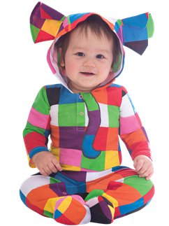 Elmer the Patchwork Elephant - 3-6 mths