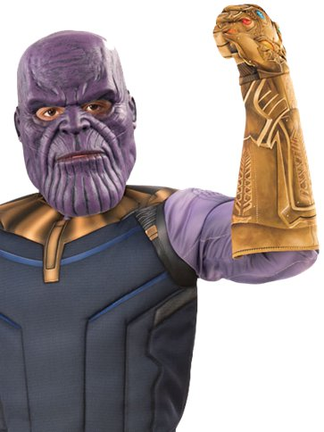 Thanos Infinity War Deluxe - Kinderkostuum left