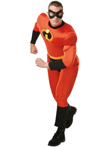 Mr Incredible Deluxe - Volwassene Kostuum front