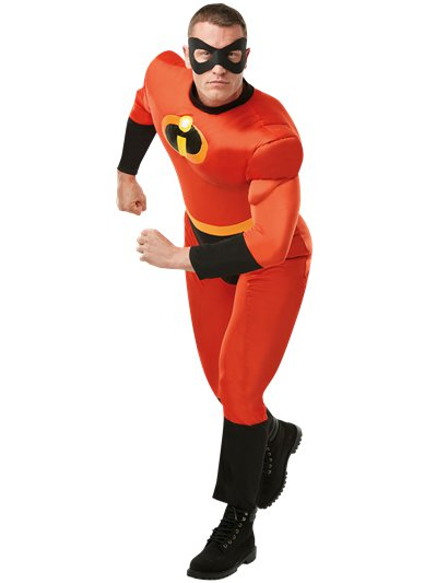 Mr Incredible Deluxe - Volwassene Kostuum
