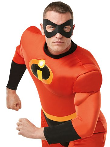 Mr Incredible Deluxe - Volwassene Kostuum left