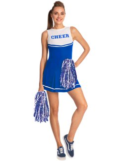 Blauwe High School Cheerleader