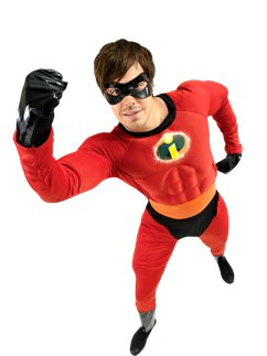 Mr Incredible Gespierde Borst