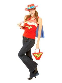 Wonder Woman Top met Cape - 36-38