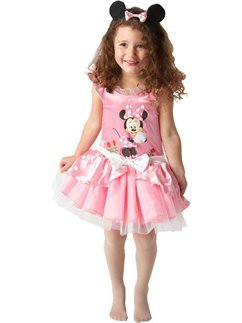 Minnie Mouse Roze Ballerina