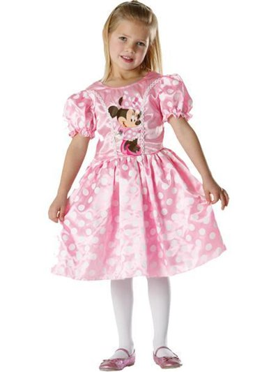 Minnie Mouse Roze Klassiek - Kinderkostuum