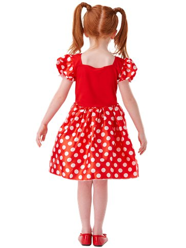 Minnie Mouse Rood Klassiek - Kinderkostuum back