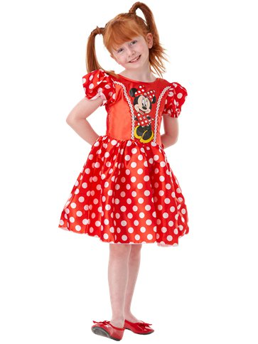 Minnie Mouse Rood Klassiek - Kinderkostuum front