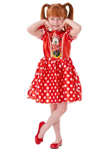 Minnie Mouse Rood Klassiek - Kinderkostuum right