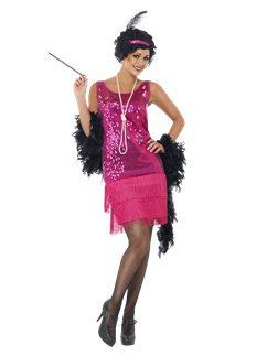 Roze Funtime Flapper