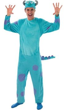 Monsters University Sulley Deluxe - Volwassene Kostuum