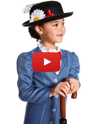 Mary Poppins - Kinderkostuum video
