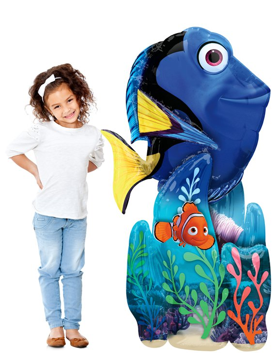Finding Dory Airwalker Ballon - 140 cm Folie