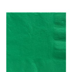 Green Luncheon Napkins - 2ply Paper