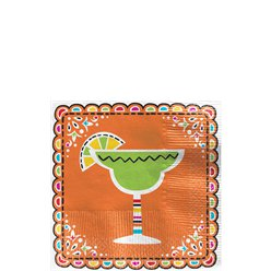 Mexicaanse Fiesta Cocktail Servetten - 25 cm - 2-laags Drank Servetten