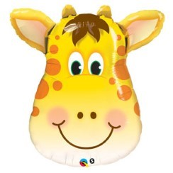 Verjaardag Jolly Giraffe Supershape Ballon - 81 cm Folie