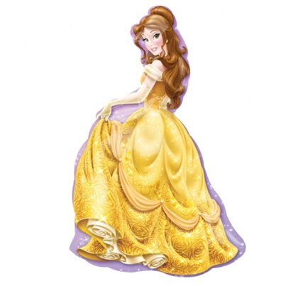 Disney Belle Supershape Ballon - Folie 86 cm