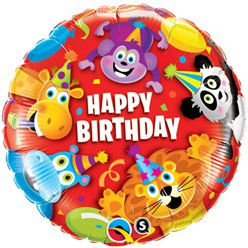 Party Animals Kids Balloon - 18