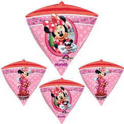 Minnie Mouse Diamondz Ballon - 61 cm Folie