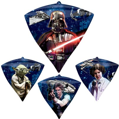 Star Wars Diamondz Ballon - 61 cm Folie