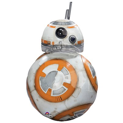 The Force Awakens BB8 Supershape Ballon - 97 cm Folie