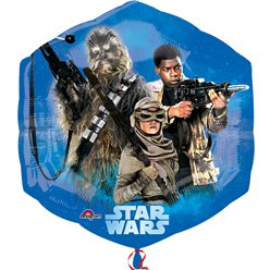 Star Wars The Force Awakens Supershape Ballon - 56 cm Folie
