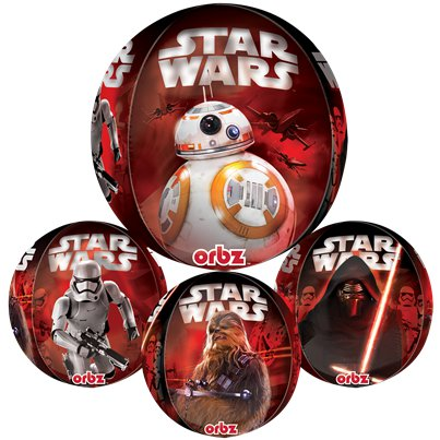 Star Wars The Force Awakens Orbz Ballon - 41 cm Folie