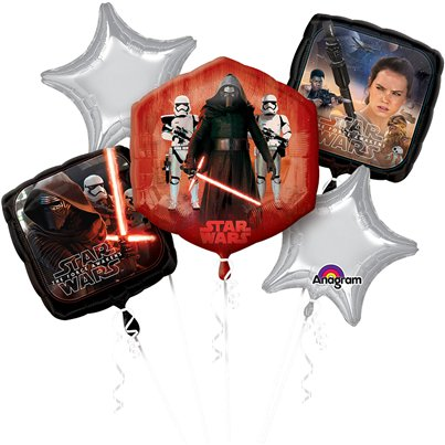 Star Wars The Force Awakens Ballonboeket - Assortiment Folie