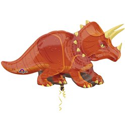 Triceratops Supershape Ballon - 107 cm Folie